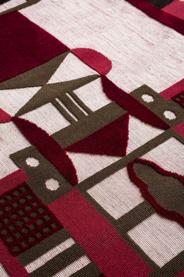 306e742827bb Bandiera Per un Giorno (Flag for a Day)   Doppia Firma Hand-woven velvet